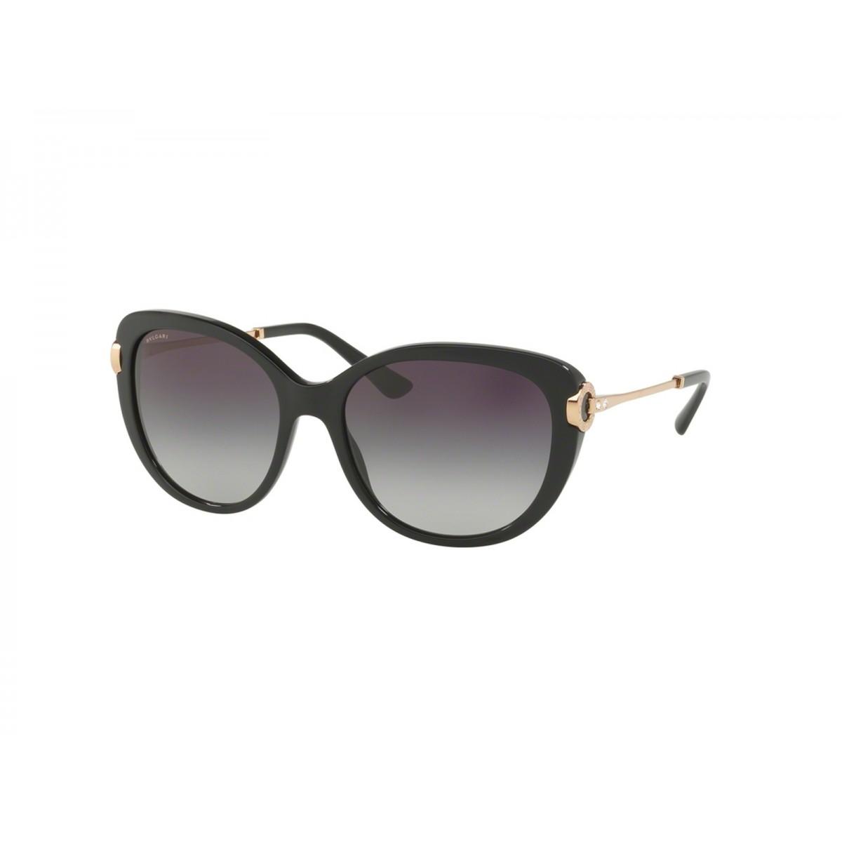 1ce0f6d7e6bd Bvlgari Try Black Square Women Sunglasses BV8194B-501 8G-57 - Women  Sunglasses - Sunglasses - Fashion World