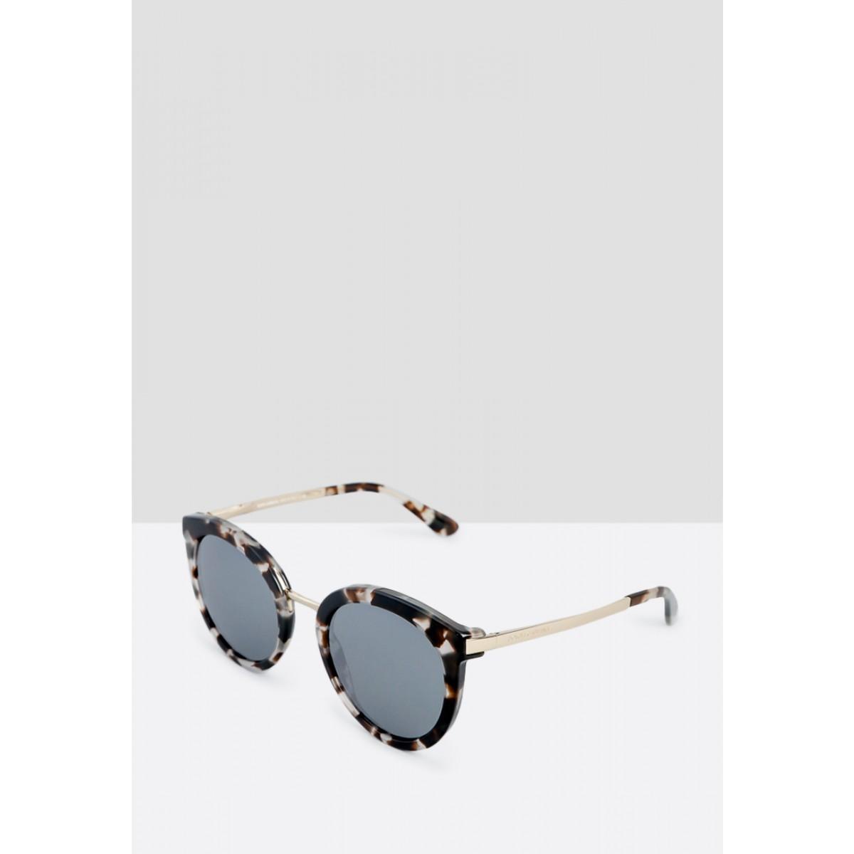 afd3621e081ecc ... Dolce   Gabbana Cube Havana Fog Oval Women Sunglasses DG4268 28886G