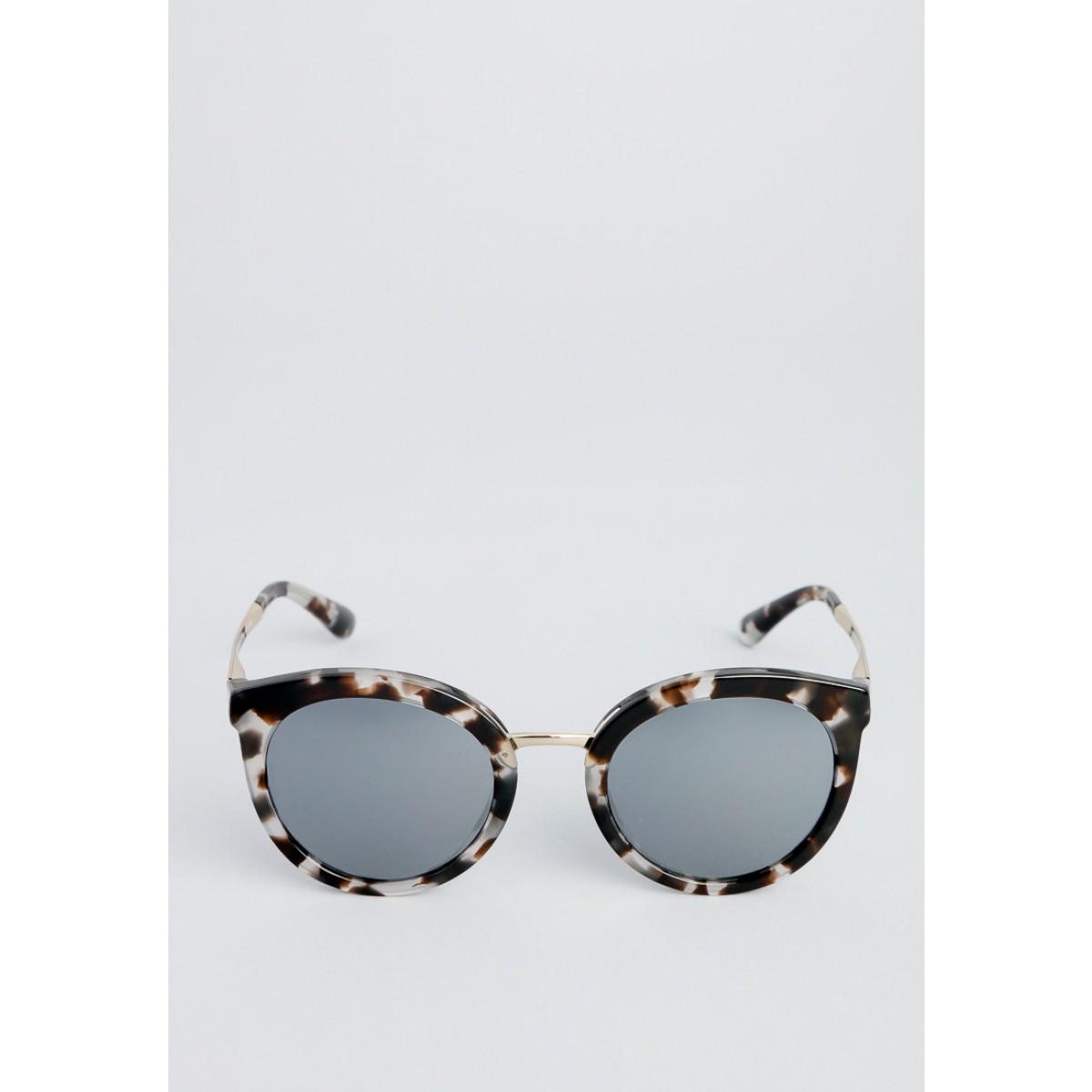 0a277577116d Dolce   Gabbana Cube Havana Fog Oval Women Sunglasses DG4268-28886G ...