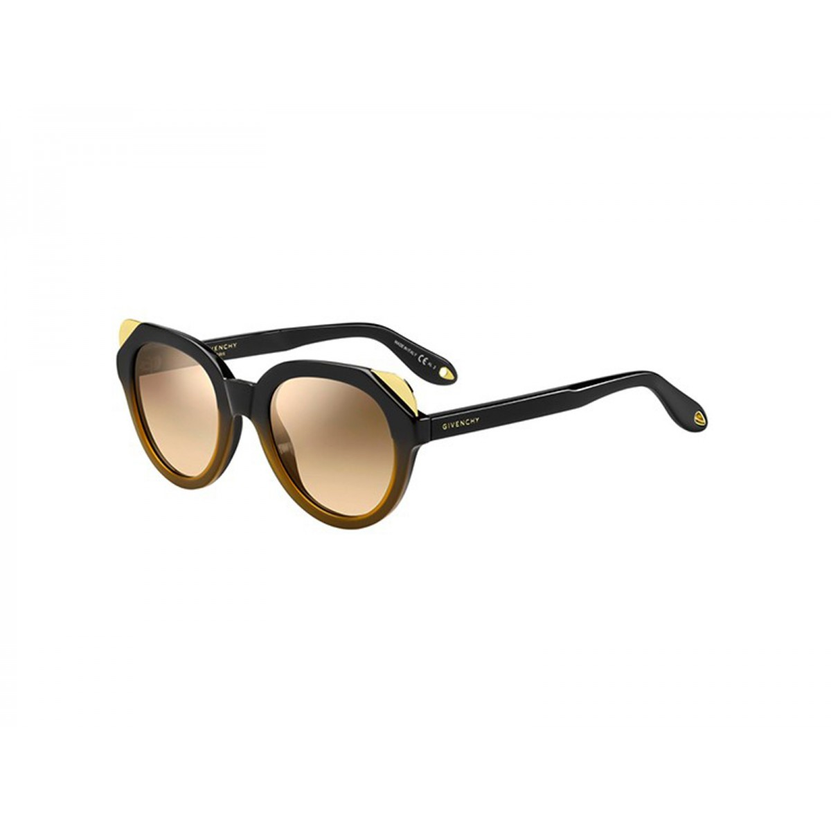 329ea7d50b Givenchy Black Brown Square Women Sunglasses GN-7053 S ...