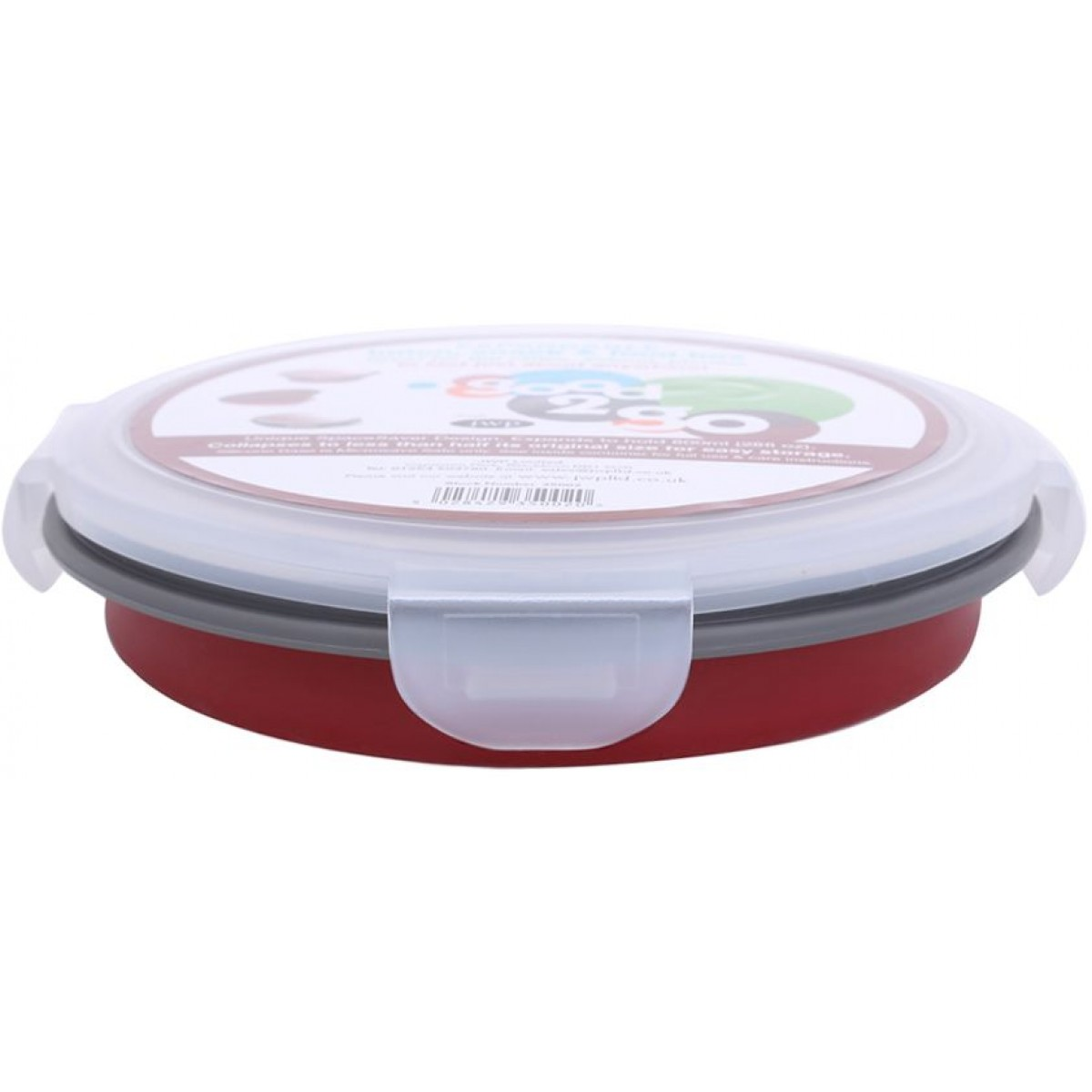 Good 2 Go Round Container 800ml Red