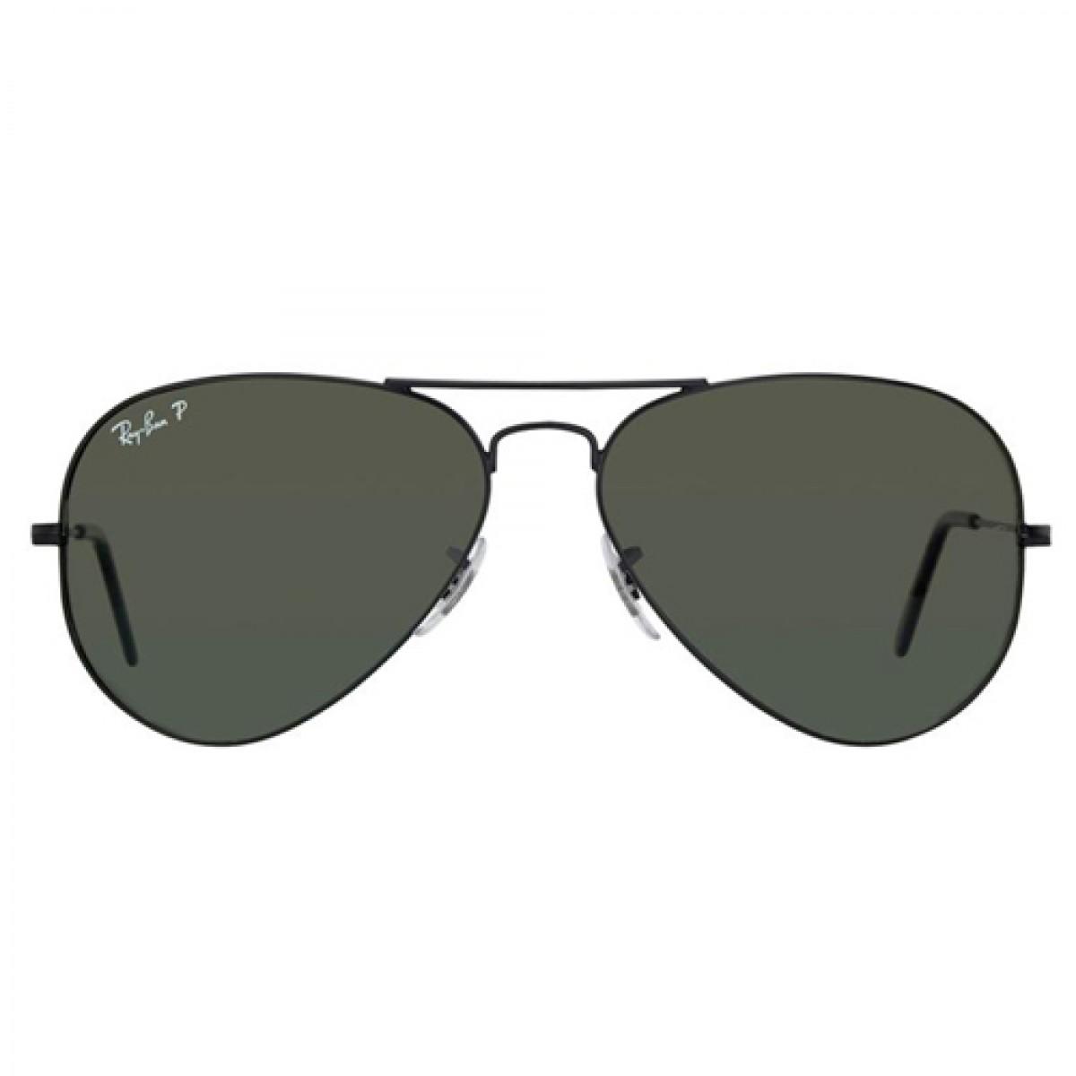 Ray Ban Classic Aviator Polarized Unisex Sunglasses RB3025-001 58 2458f0a669