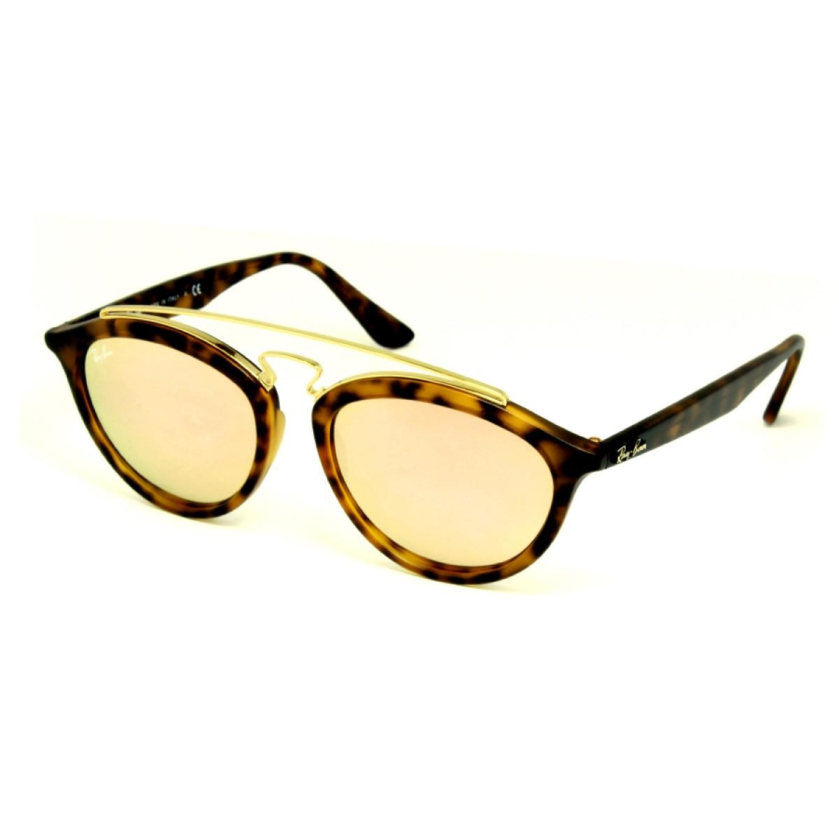 3fd1fc5d82 Ray Ban Gatsby II Copper Mirror Unisex Sunglasses RB4257-60922Y-50 ...