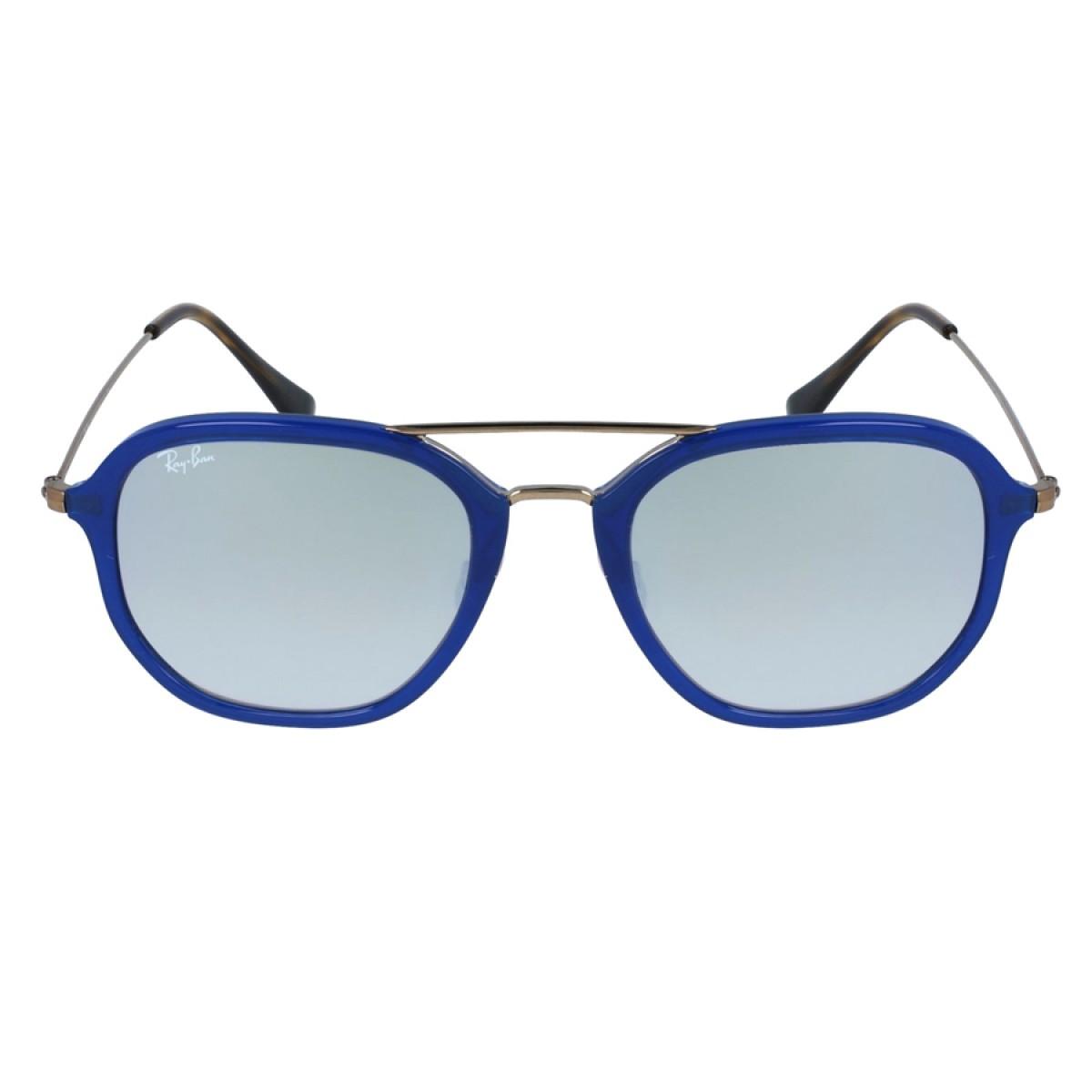 3b4e79dc6a861 Ray Ban Highstreet Gradient Silver Flash Square Unisex Sunglasses  RB4273-62599U - Sunglasses - Fashion World