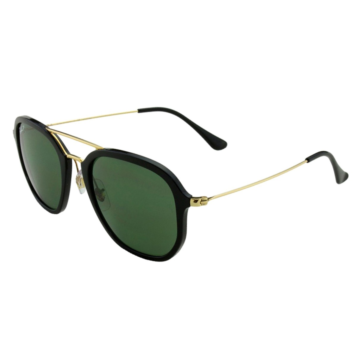 b1f5673e61 Ray Ban Highstreet Polarized Classic Green G-15 Square Unisex Sunglasses  RB4273-601 9A - Sunglasses - Fashion World