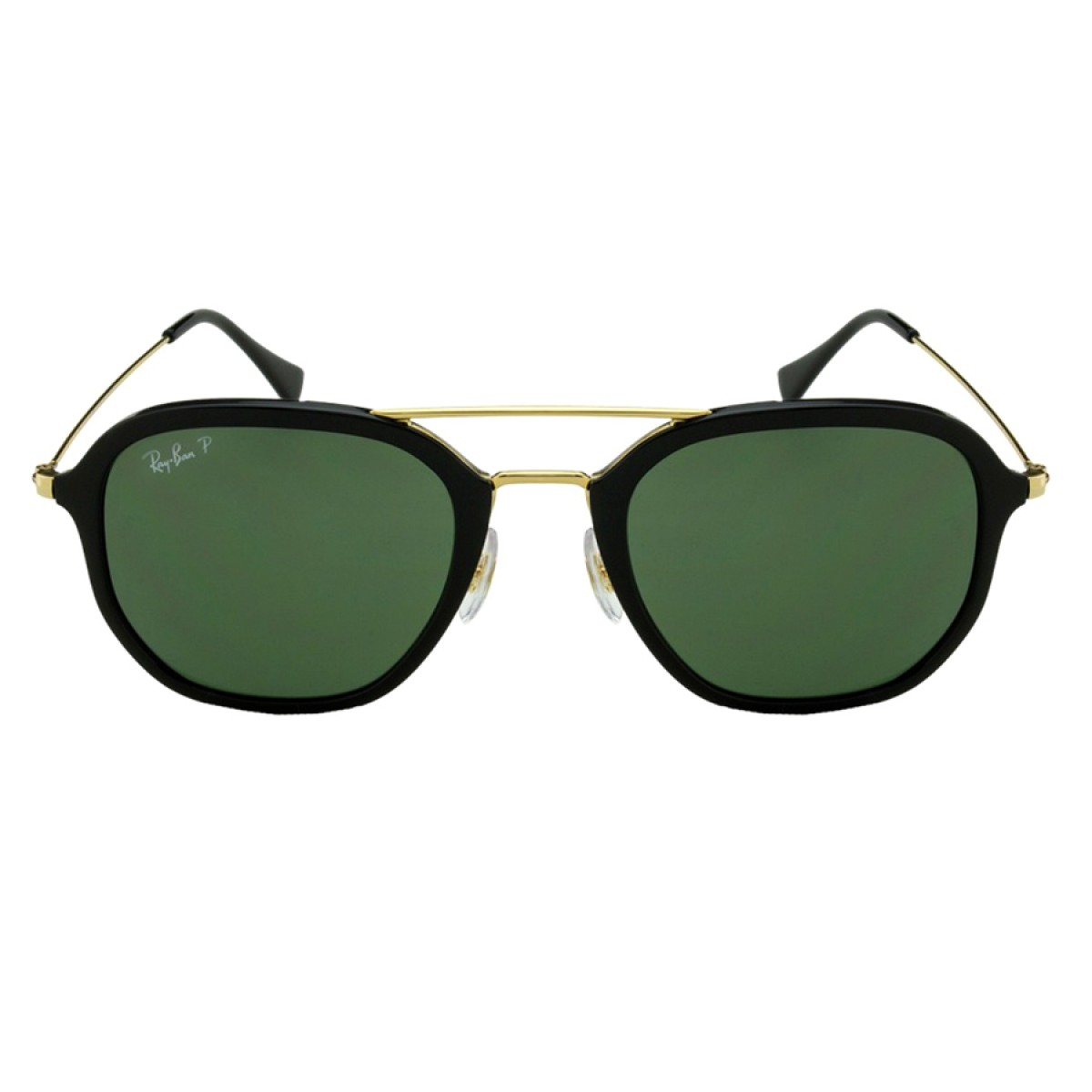 44b21f5e51 Ray Ban Highstreet Polarized Classic Green G-15 Square Unisex Sunglasses  RB4273-601 9A