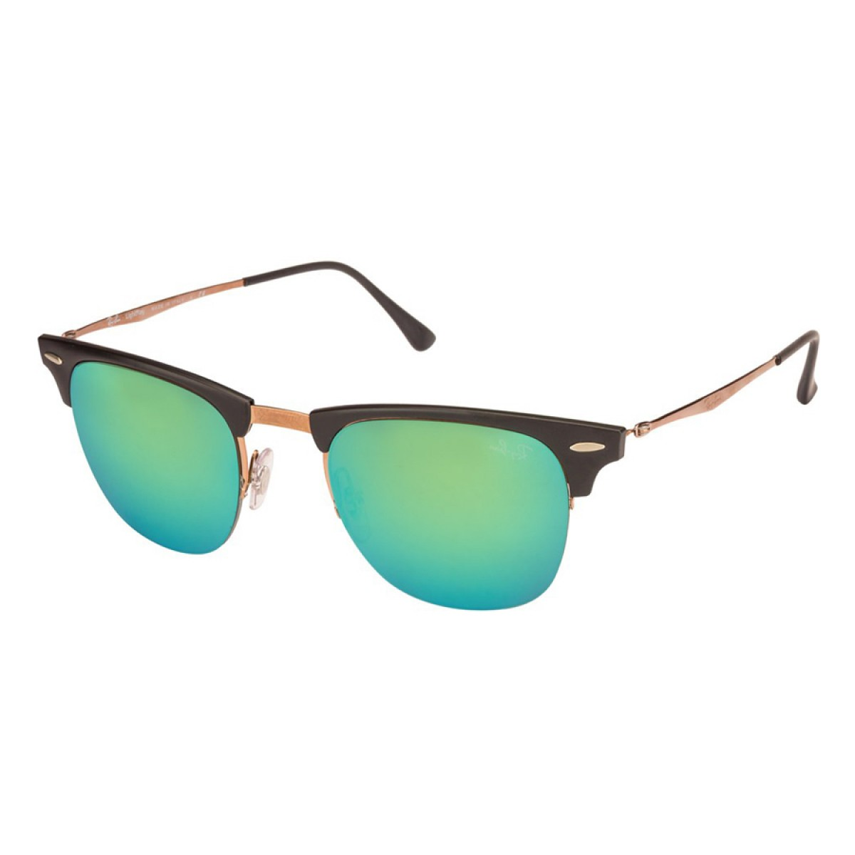 78c359c0d7 Ray Ban Light Ray Clubmaster Titanium Unisex Sunglasses RB8056-176 3R -  Sunglasses - Fashion World