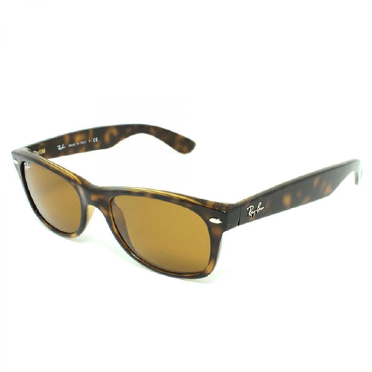 5b29a8f870523 Ray Ban New Wayfarer Unisex Sunglasses RB2132-710 51-52 - Fashion World