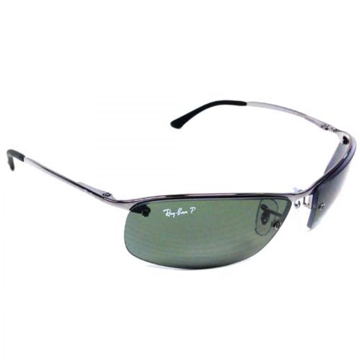 1c74bde2cc Ray Ban Polarized Gunmetal Men Sunglasses RB3183-004 9A-63 - Fashion ...