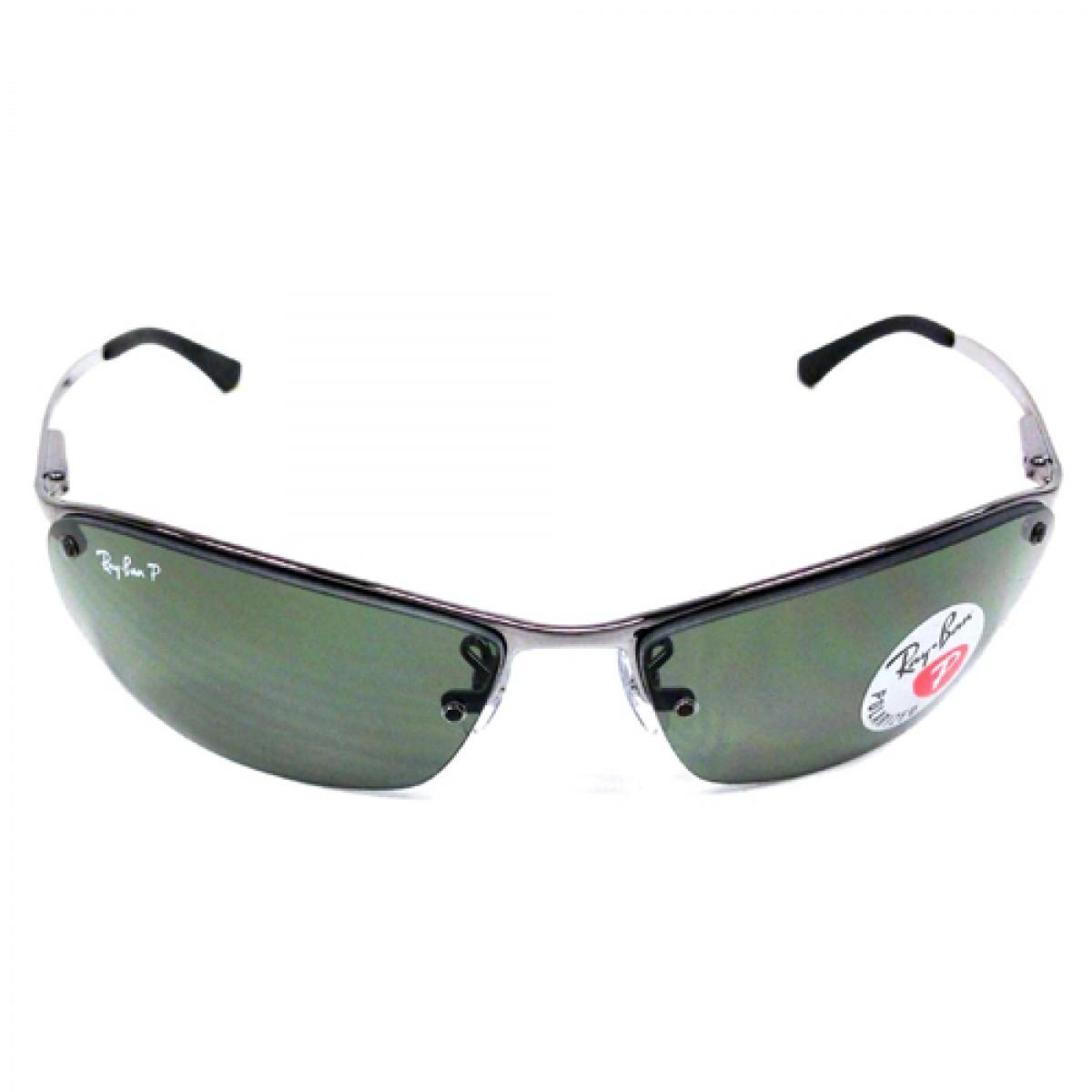 7cc8f11f48 Ray Ban Polarized Gunmetal Men Sunglasses RB3183-004 9A-63 - Fashion World