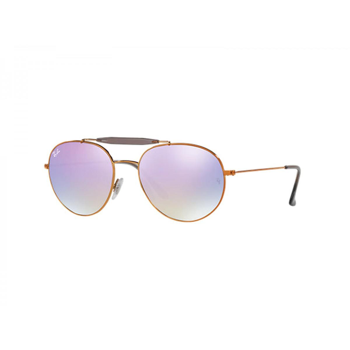 db48a3afdd Ray Ban Round Double Bridge Unisex Sunglasses RB3540-198 7X - Sunglasses -  Fashion World