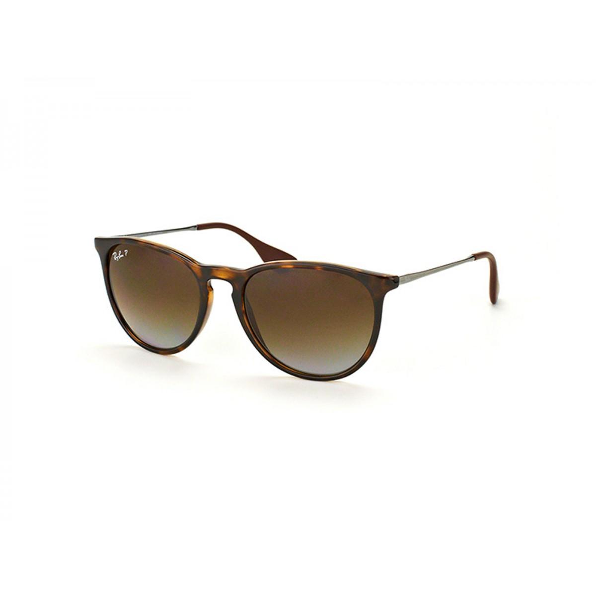 76a13e91d82985 Ray Ban Erika Matte Havana Polarized Unisex Sunglasses RB4171-710 T5 ...