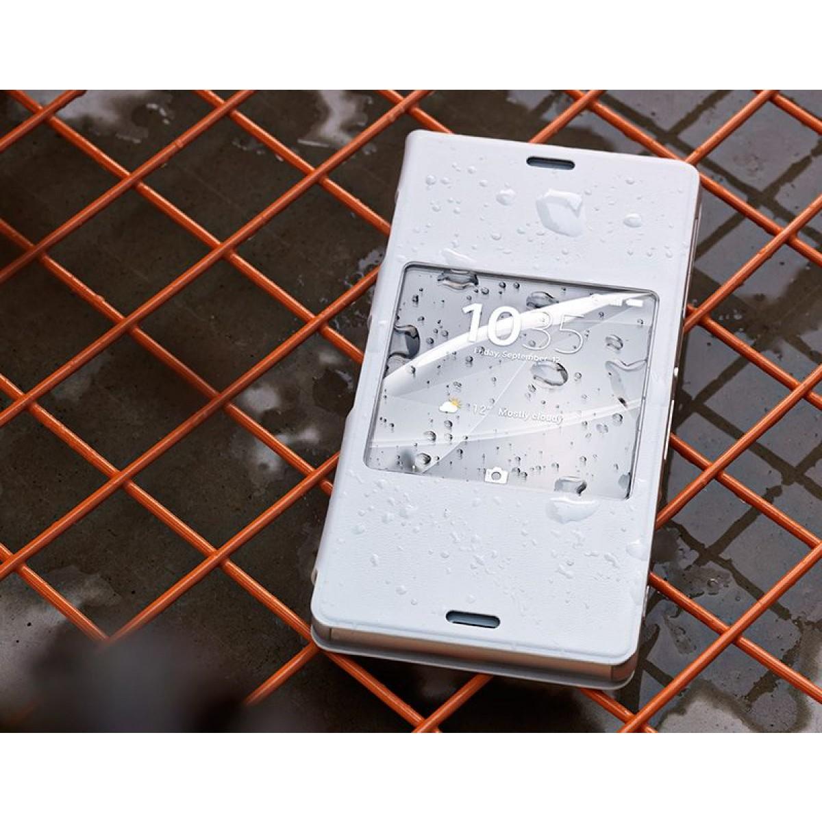 on sale 1e6eb 458ed Sony Style Cover Window Xperia™ Z3 - SCR24 - Electronics World