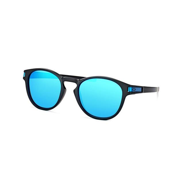 f5783e41599f0 Oakley Latch Prizm Sapphire Men Sunglasses OK-9265-926530-53 - Sunglasses -  Fashion World