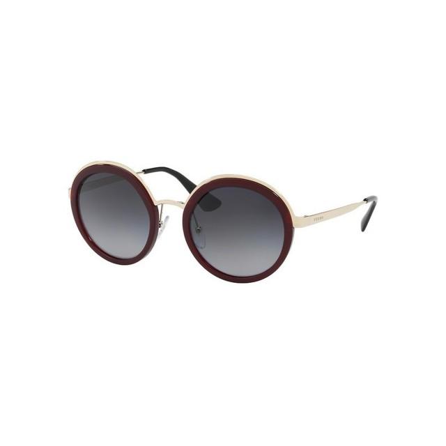 7386e599a8f73 new arrivals prada burgundy round women sunglasses pa 50ts vhw5w1 54 047b9  f8947