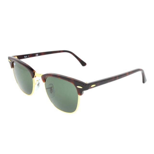 30594c010c5 Ray Ban Clubmaster Unisex Sunglasses RB3016-W0366 - Fashion World