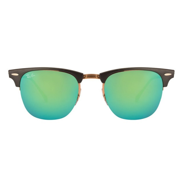 164ae41deb10c Ray Ban Light Ray Clubmaster Titanium Unisex Sunglasses RB8056-176 ...