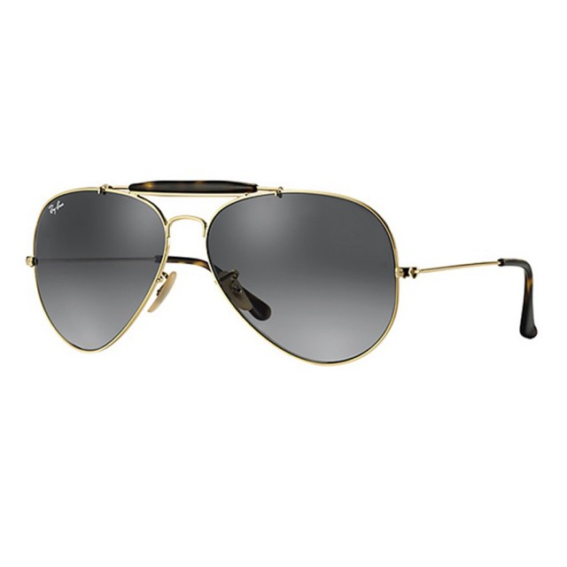 0408229348 Ray Ban Outdoorsman Havana Unisex Sunglasses RB3029-181 71-62