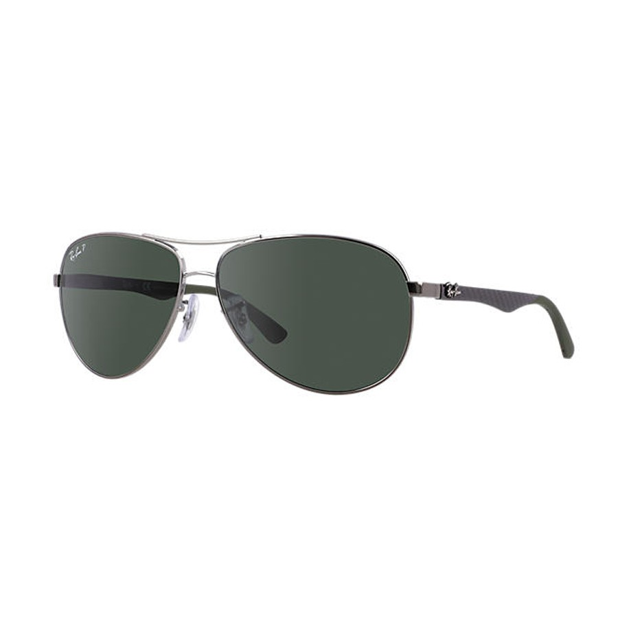 693e809ea3 Ray Ban Carbon Fibre Aviator Polarized Unisex Sunglasses RB8313-004 N5. Be  the first to review this product